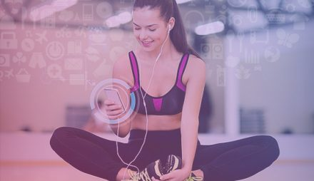 How is fitness app a big support system for being a fitness freak?