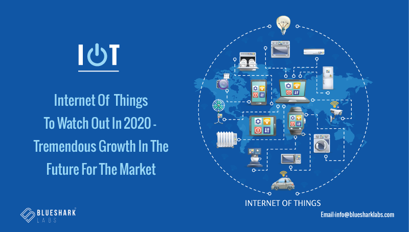 IoT - Internet Of Things To Watch Out In 2020 - Tremendous Growth In The Future For The Market